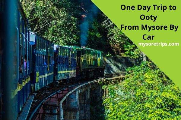 one day trip to ooty from mysore
